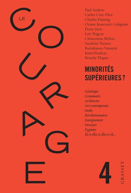 REVUE LE COURAGE N.4 ; minorités supérieures ?