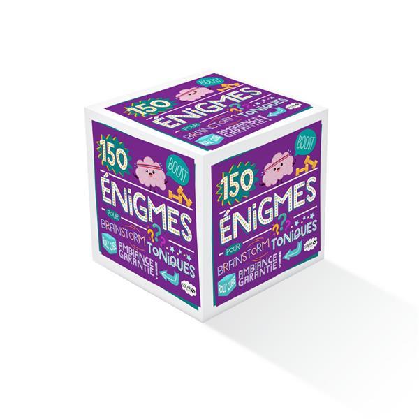ROLL'CUBE ; 150 énigmes