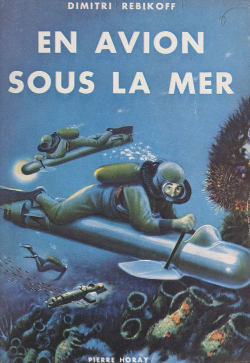 En avion sous la mer