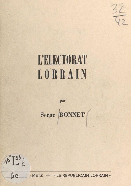 L´électorat Lorrain