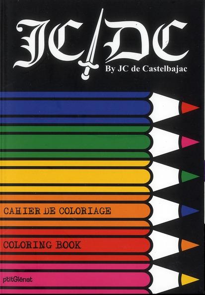 Cahier de coloriage JC/DC