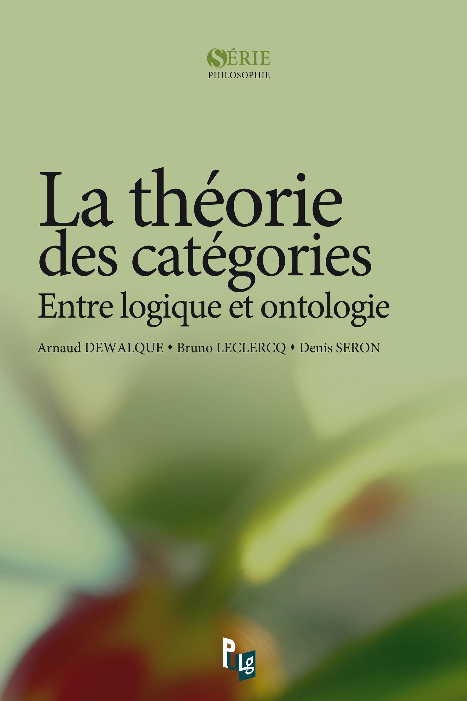 La théorie des catégories