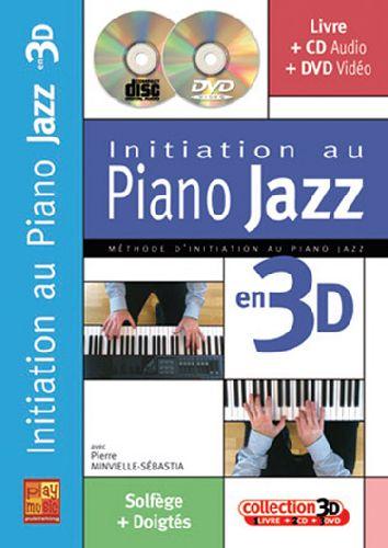 Initiation au piano jazz en 3D ; solfège + doigtés