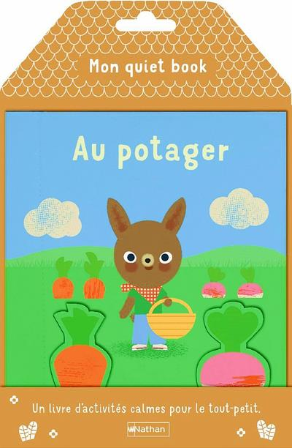 Mon quiet book ; au potager