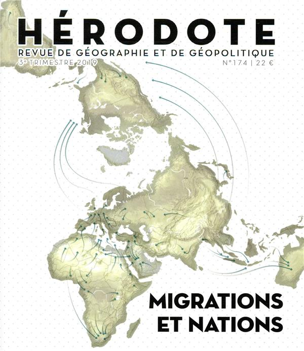 Revue herodote n.174 ; migrations et nations