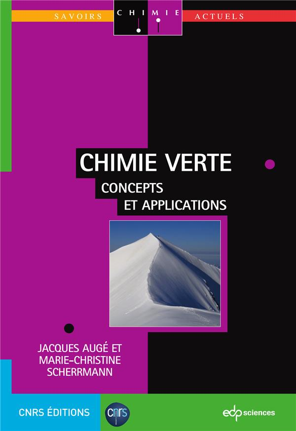 Chimie verte ; concepts et applications