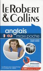 Couverture de Dictionnaire robert & collins maxi poche ; français-anglais / anglais-français (édition 2010)