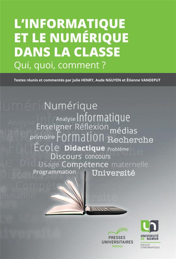 L'informatique et le numérique dans la classe