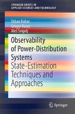 Observability of Power-Distribution Systems  - Ales Svigelj - Gregor Kosec - Urban Kuhar
