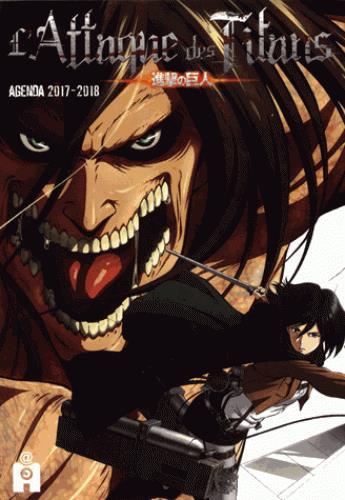 L Attaque Des Titans Agenda Edition 2017 2018 Hajime Isayama