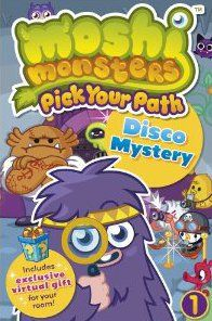 Moshi monsters ; pick your path t.1 ; disco mystery