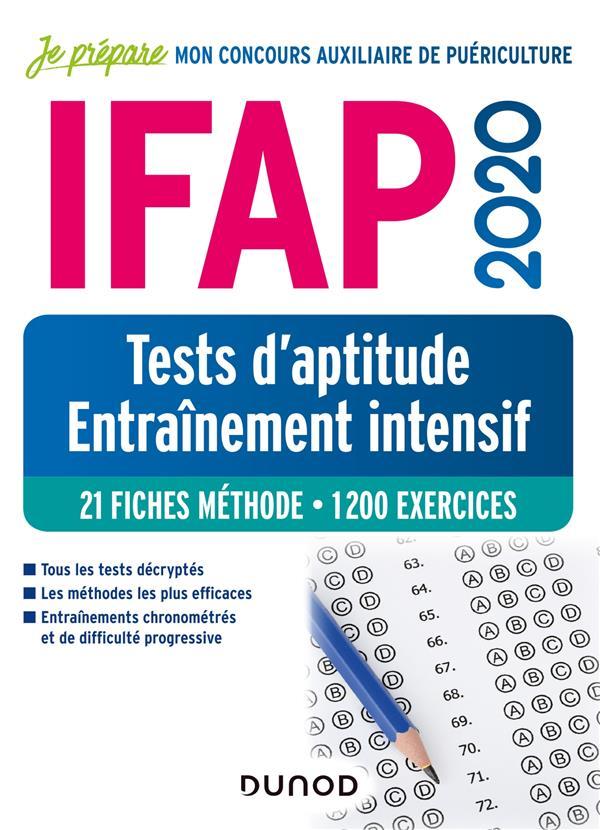Je prépare ; IFAP 2020 ; tests d'aptitude, entraînement intensif