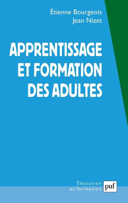 Apprentissage et formation des adultes (3e édition)