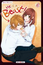 Vente Livre Numérique : He is a beast ! T06  - Saki Aikawa