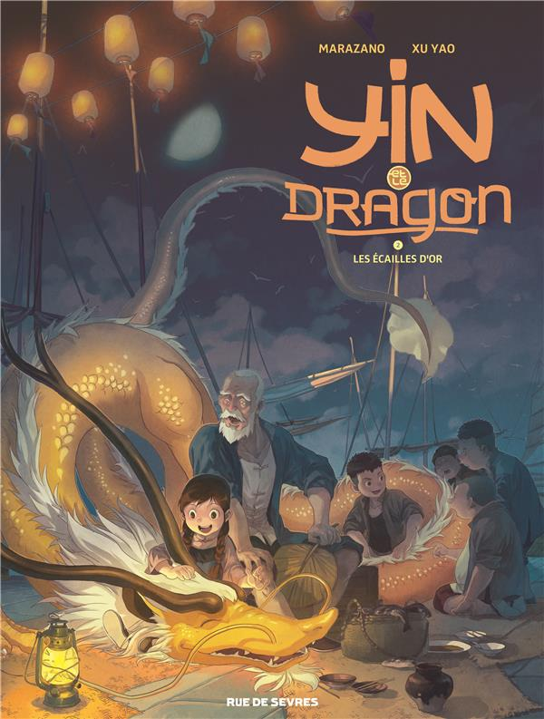 Yin et le dragon t.2 ; les écailles d'or