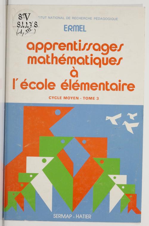 Apprentissages mathématiques à l'école élémentaire (3)