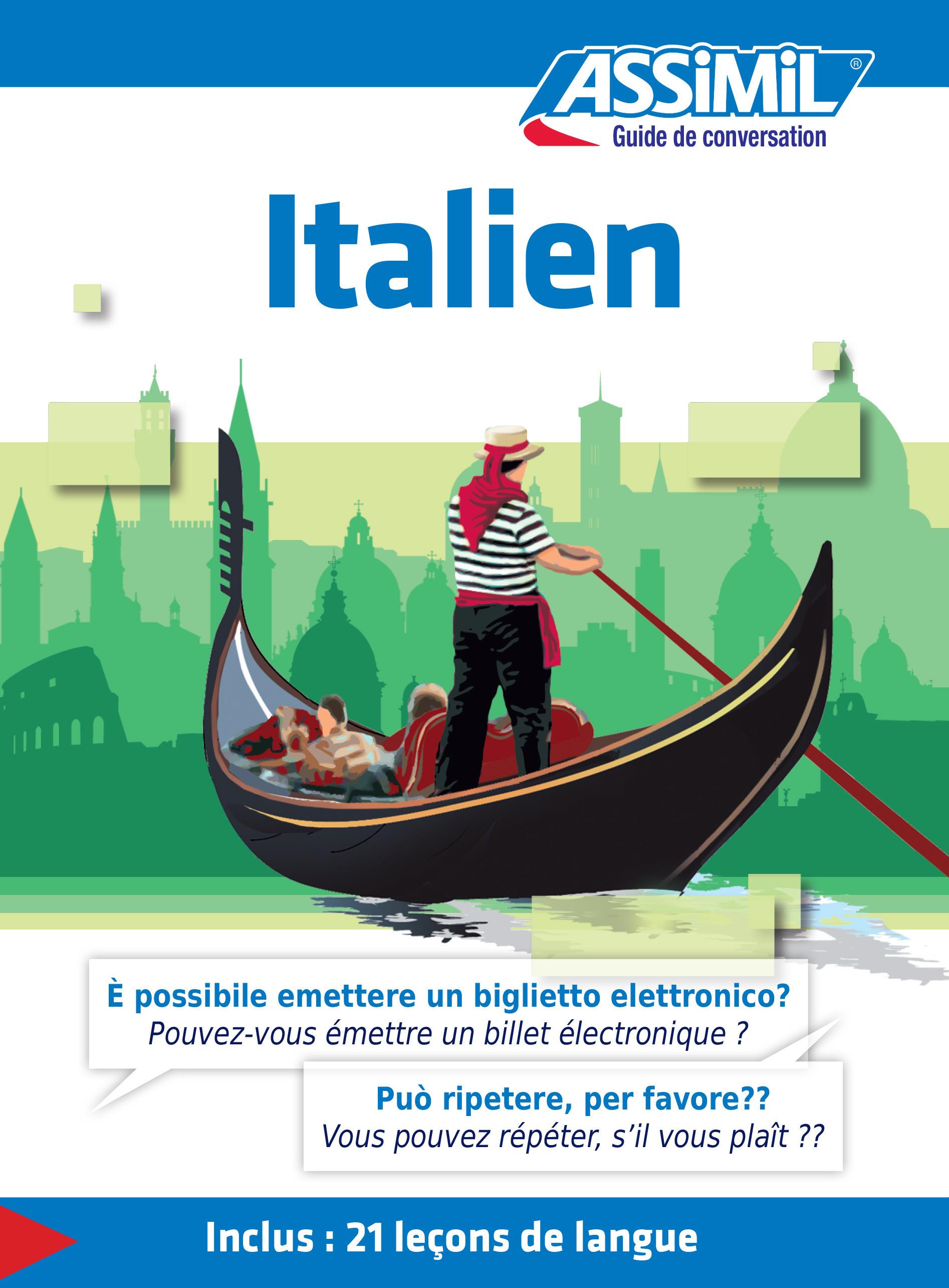 GUIDES DE CONVERSATION ; italien