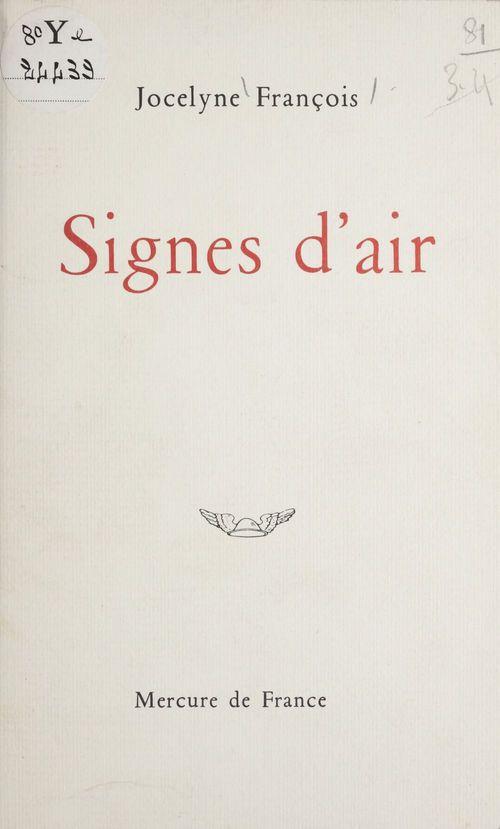 Signes d'air