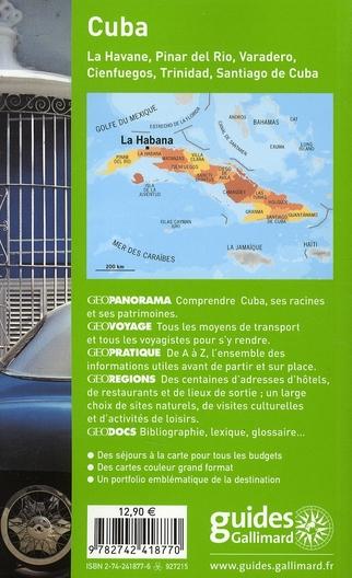 GEOguide ; cuba (édition 2007)