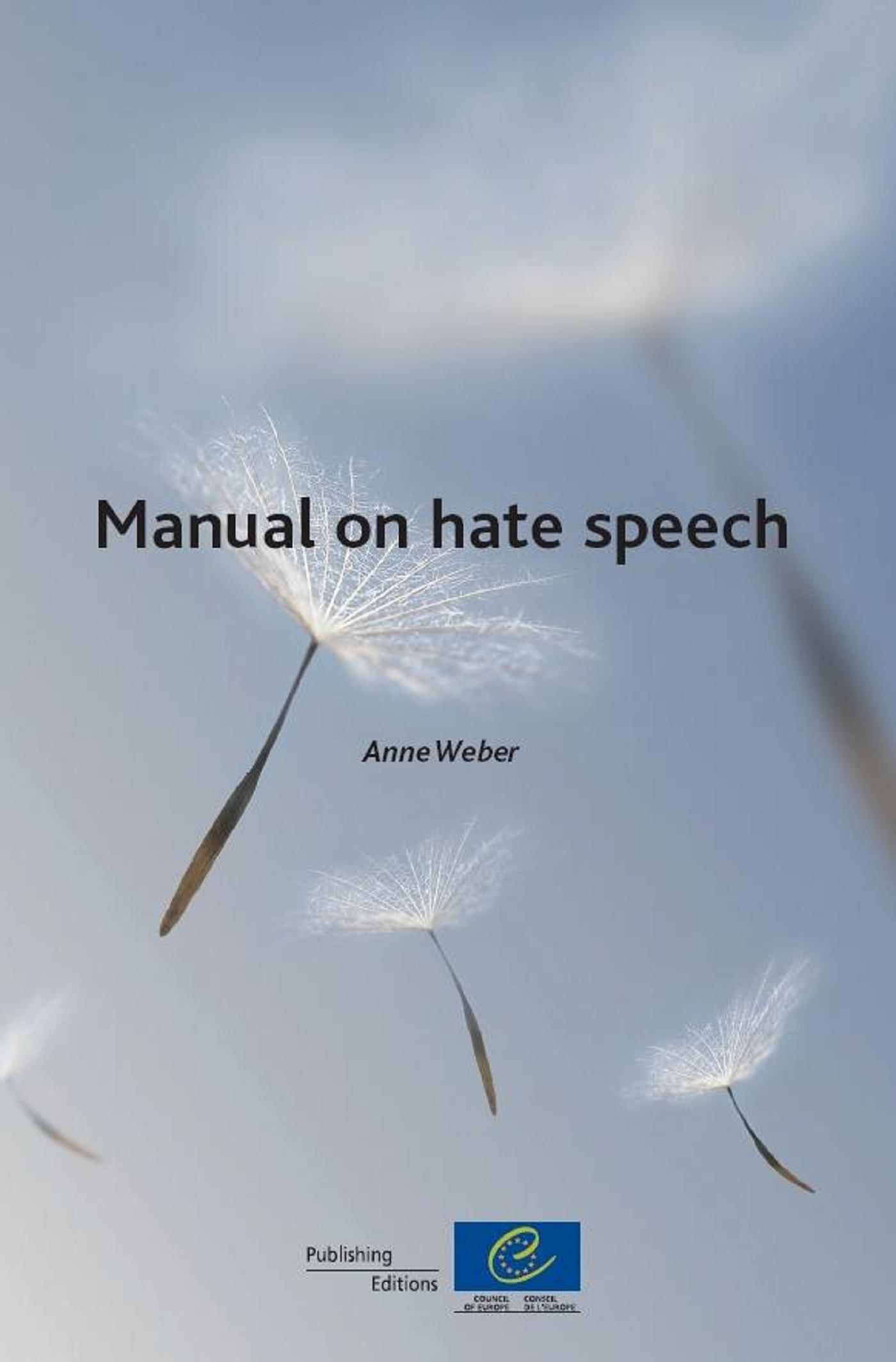 Manual on hate speech