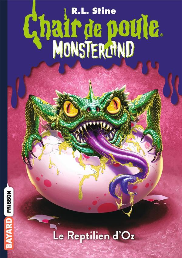 Monsterland t.10 ; le reptilien d'Oz