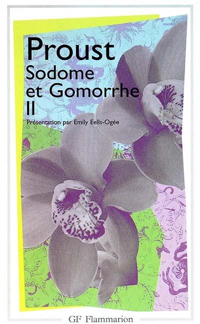 à la recherche du temps perdu t.4 ; Sodome et Gomorrhe t.2