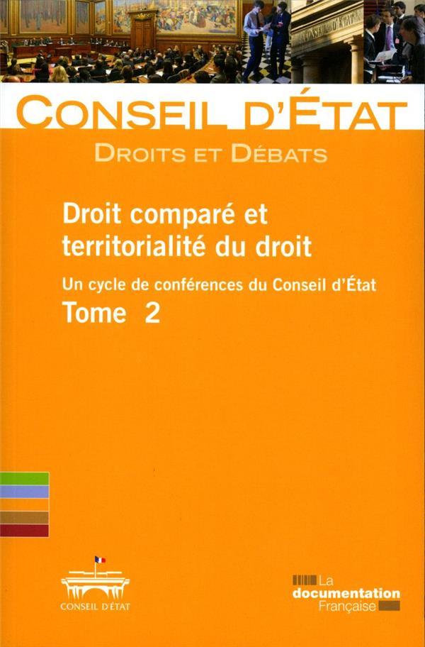 Droit comparé et territorialité du droit t.2