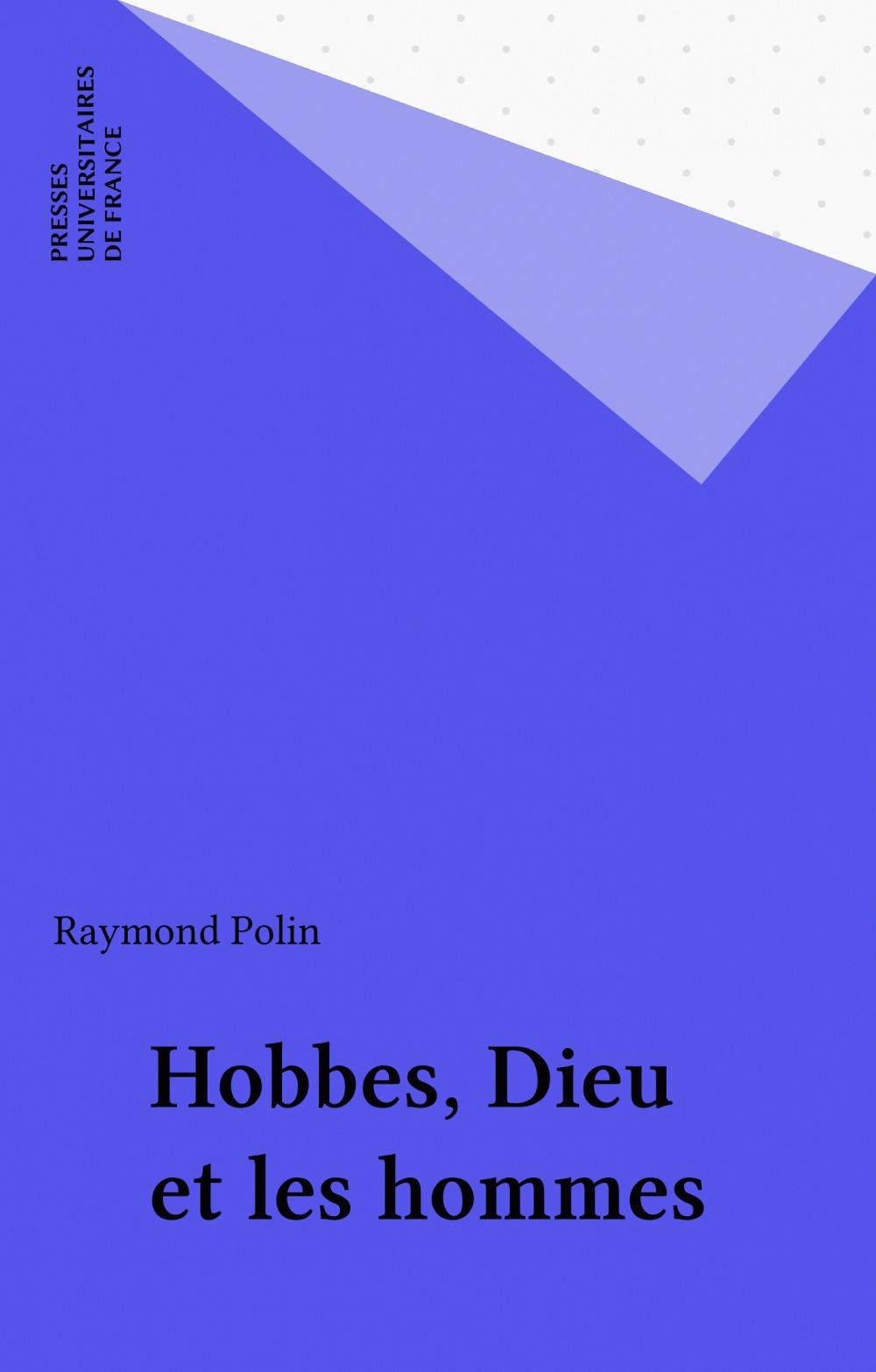 Hobbes, dieu et les hommes