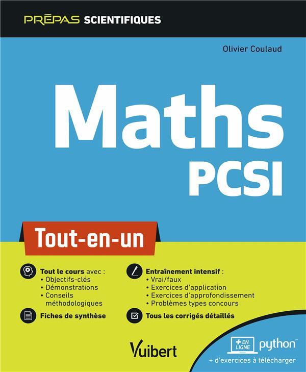 Maths PCSI ; tout-en-un