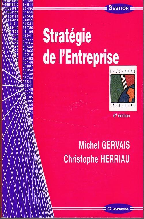 Strategie De L'Entreprise (6e Edition)