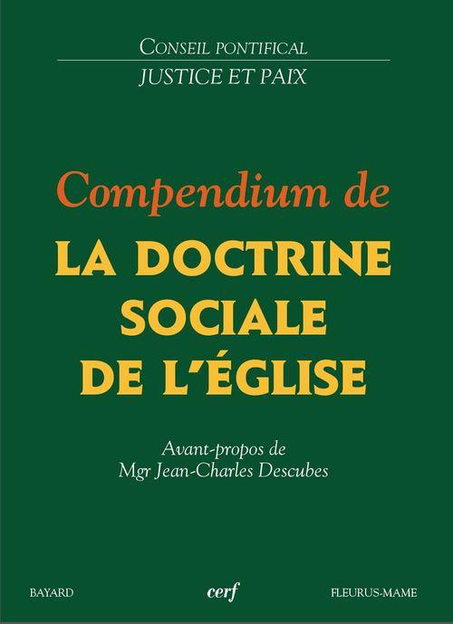 compendium de la doctrine sociale de l'eglise