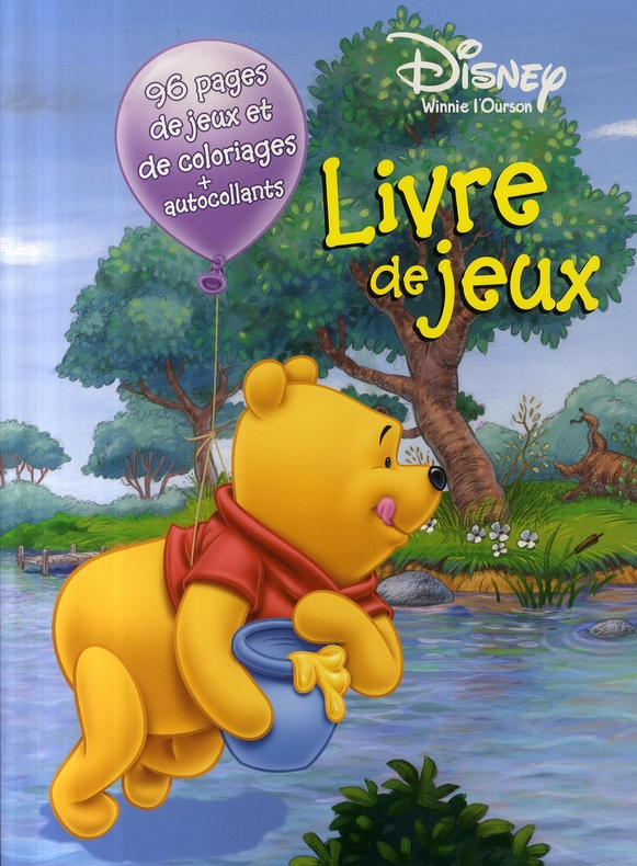 Winnie L Ourson Livre De Jeux Disney Hemma Grand