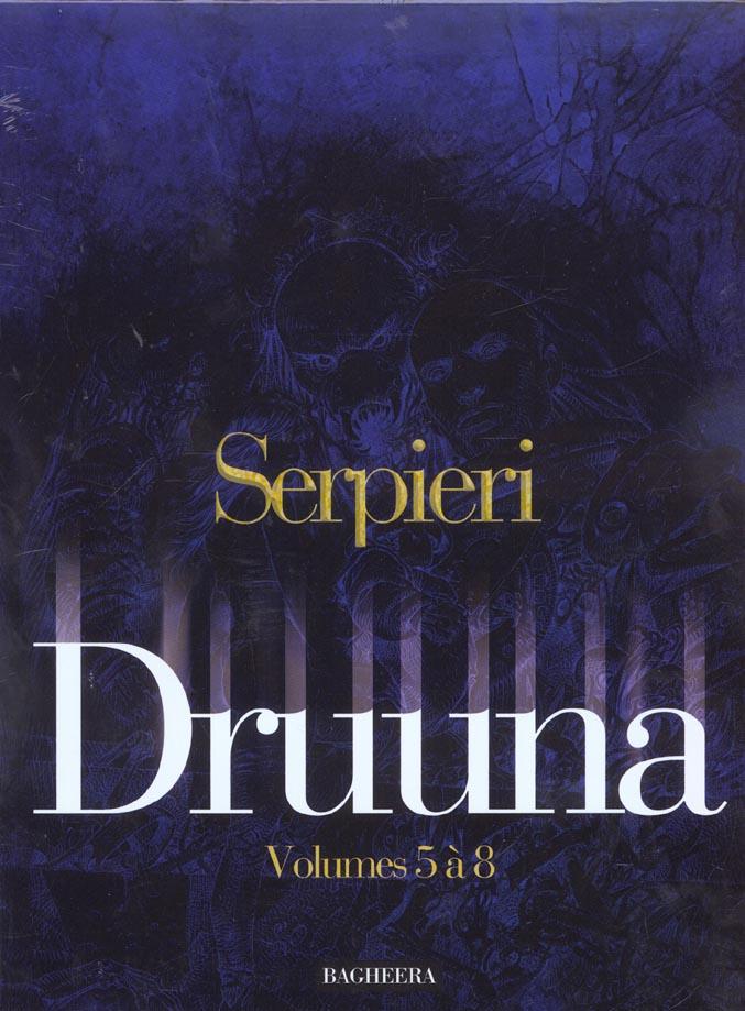 Druuna ; COFFRET VOL.2 ; T.5 A T.8 ; Mandragora, Aphrodisia, la planète oubliée, clone