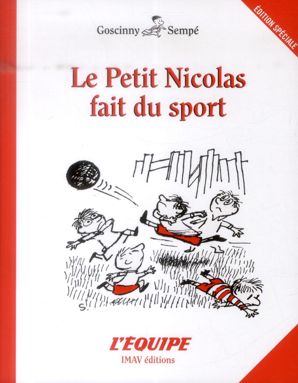 le Petit Nicolas ; le petit Nicolas fait du sport