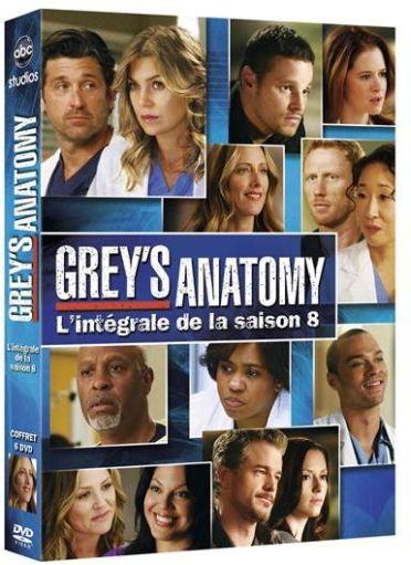 coffret Grey's anatomy, saison 8