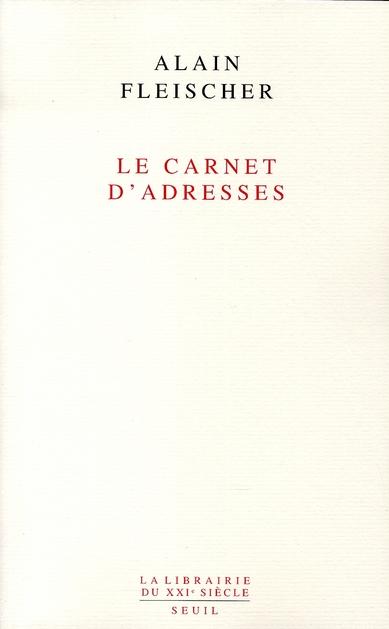 Le carnet d'adresses