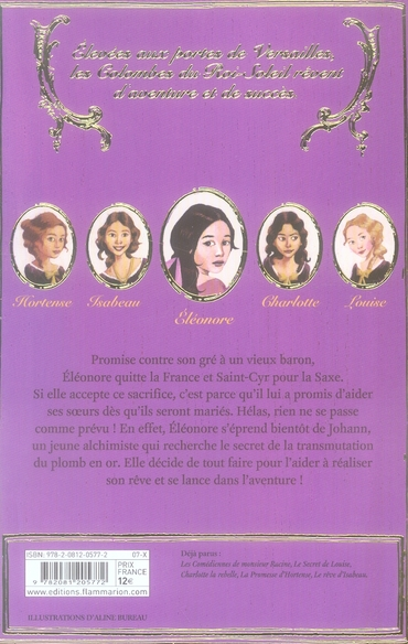 Les colombes du Roi-Soleil T.6 ; Eleonore et l'alchimiste