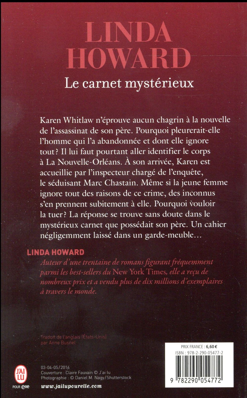 Le carnet mystérieux