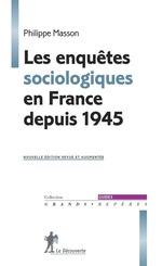 Vente Livre Numérique : Les enquêtes sociologiques en France depuis 1945  - Philippe MASSON