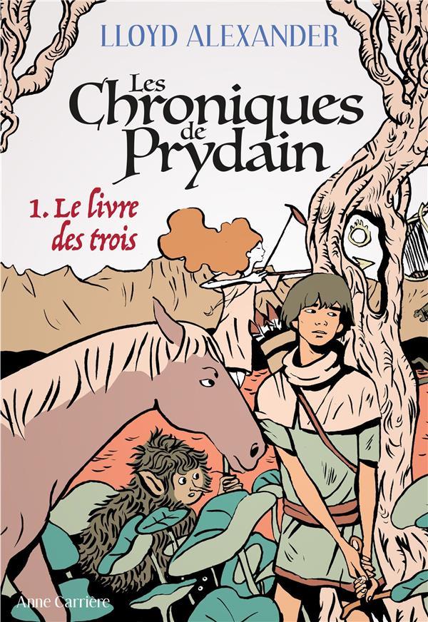 LES CHRONIQUES DE PRYDAIN T.1  -  LE LIVRE DES TROIS
