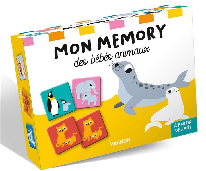 Mon mémory des bébés animaux