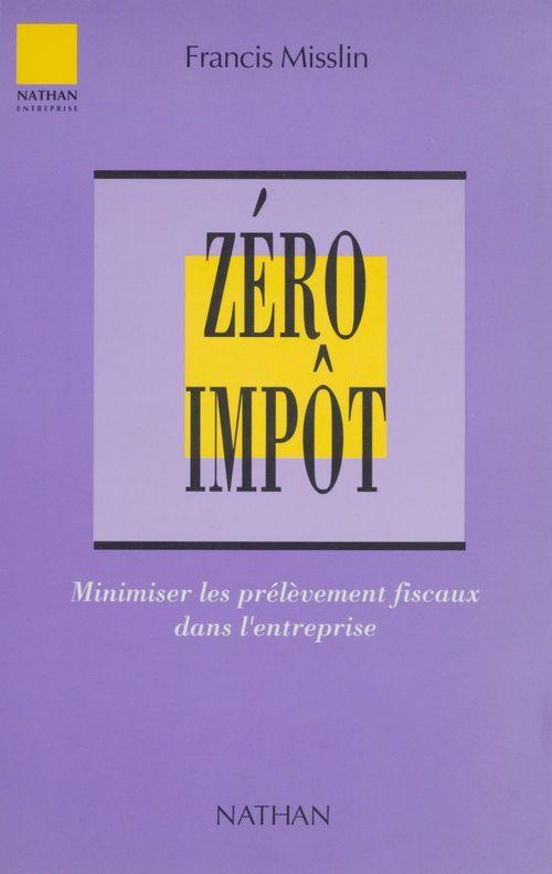 Zero impot