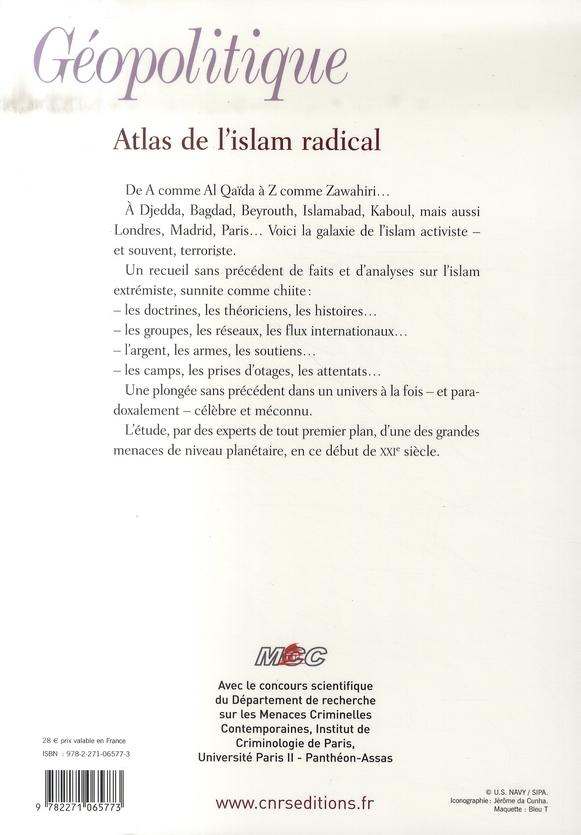 Atlas De L Islamisme Radical Xavier Raufer Cnrs Grand Format Librairies Autrement