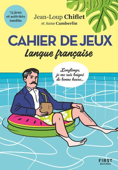 Cahier de jeux spécial langue française