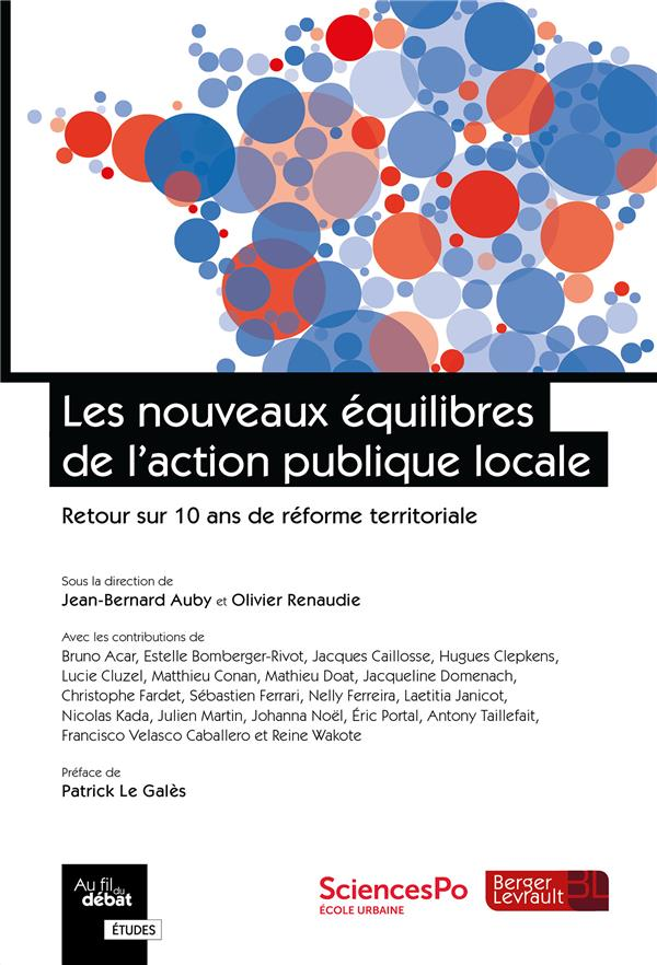 Les nouveaux équilibres de l'action publique locale