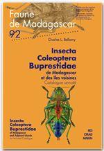Insecta Coleoptera Buprestidae de Madagascar et des îles voisines/Insecta Coleoptera Buprestidae of Madagascar and Adjacent Isla  - Charles Bellamy - Charles L. Bellamy