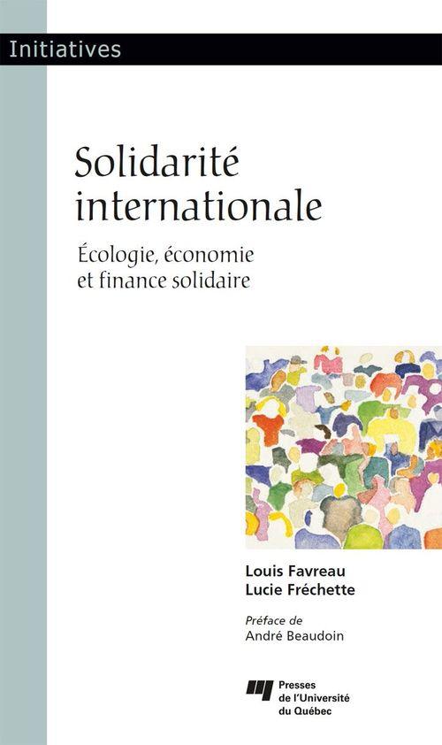 Solidarite internationale - ecologie, economie et finance solidaire