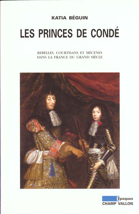 Princes de conde (les) ancienne edition