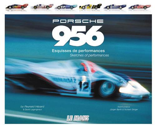 Porsche 956, esquisses de performances; sketches of performances