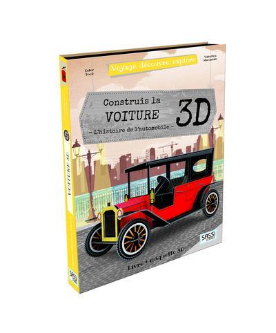Voyage, découvre, explore ; construis la voiture 3D ; l'histoire de l'automobile